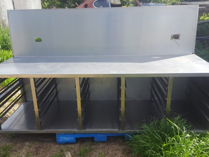 Large Commercial Stainless Bench